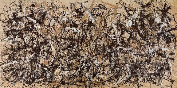 Jackson Pollock: One: Number 31, 1950.