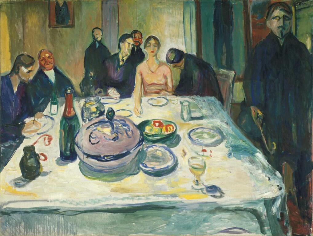 Edvard Munch: The Wedding of the Bohemian, 1925-26. © Munchmuseet