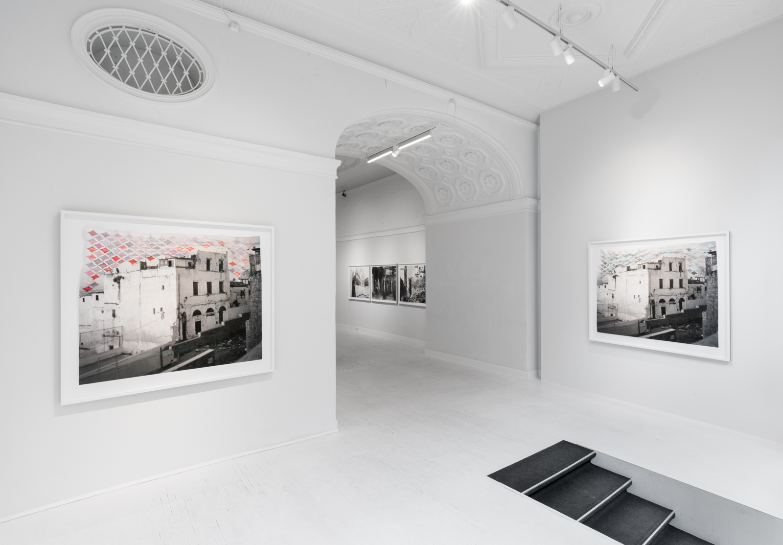 From the exhibition Kasbah Walking i Martin Asbëk Gallery, Copenhagen 2018. Photo: David Stjernholm.