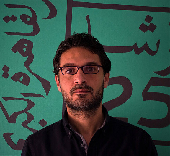 Ahmed Badry. Photo: Cairo Biennale.