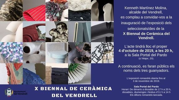 X Biennal Internacional de Ceràmica del Vendrell in Spain.